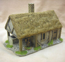 28mm PMC GIOCHI me52 (dipinto) Blacksmiths FORGE tetto di paglia TETTO-MEDIEVALE