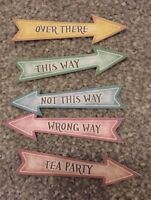 30 alice in Wonderland Party Signs Table Confetti birthday/Wedding decorations