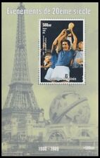 Guinea 1998 MNH MS, Italy Football Champions Sports, Events of 20th Century