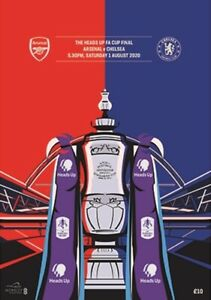FA CUP FINAL PROGRAMME 2020 Chelsea v Arsenal - Immediate FIRST CLASS dispatch!!