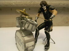 Used Vintage 2000 McFarlane KISS Drum Set ONLY (from Peter Criss ALIVE Series)