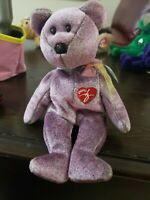 """Beanie Baby """"2000 Signature Bear"""" with tag errors"""