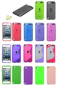 For Apple New iPod Touch 7 6 5th Gen Slim Hybrid Rubber Silicone TPU Case Cover