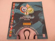 Album Panini WORLD CUP GERMANY 2006 - Incomplet 204/597
