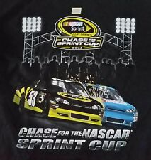 NASCAR Sprint CUP SERIES, CHASE FOR THE SPRINT CUP 2011 T-Shirt By Chase! New!