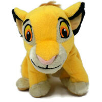 "Disney Simba Lion King Stuffed Animal Plush Toy Young Cub Cat 7"" Tall Just Play"