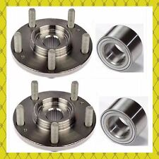 FRONT WHEEL HUB & BEARING FOR FORD TRANSIT CONNECT 2010-2013 PAIR FAST SHIPPING