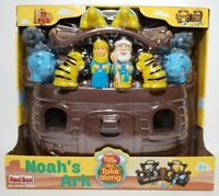 Noah's Ark Toy Play Set Figurines, Animals, Carrying Case Christmas Gift