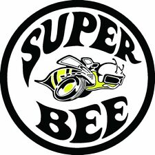 SUPER BEE RAT ROD OLD SCHOOL HOT RODS MUSCLE CAR VINTAGE PERFORMANCE STICKER