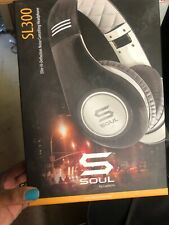 SOUL by Ludacris SL300 High Definition Noise Canceling Headphones silver/black