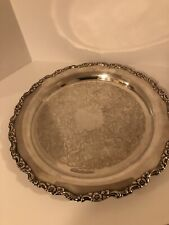 "Vintage Large 15.5"" Oneida Silverplate Serving Tray Royal Provincial"