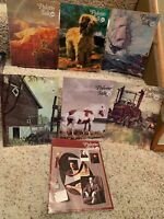 Lot of 7 Vintage Palette Talk Art Oil Painting Magazines 1975 through 1980