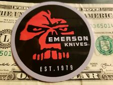Emerson Knives Authentic Sticker