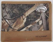 ZEP PRO BASS fish Realtree MAX 5 Camo Bifold Wallet TIN GIFT BOX