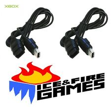 2x New 6 Ft. Controller Cable Extensions for the Original Microsoft Xbox System