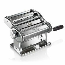 Marcato Design 8320 Atlas 150 Pasta Machine, Made in Italy, Includes Cutter, Han