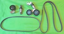 BMW M62 Engine E38 E39 E53 540i 740i X5 Serpentine Belts,Tensioners, Pulley Kit