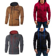 Men's Athletic Hooded Hoodies Sweatshirt Spring Jacket Coats Top Outwear Casual