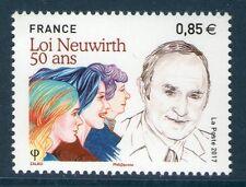 TIMBRE 5121 NEUF XX  - 50 ans de la Loi Neuwirth sur la contraception
