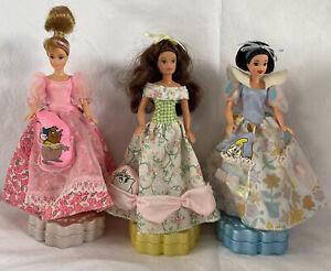 3 X Disney Princess Dolls