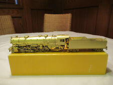 Brass 2-10-2 USRA Light HO Scale Steam Locomotive, by Sunset, Undecorated, clean