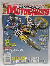 Transworld Motocross Magazine Feb. 2006 Yamaha YZ450F Hot Start Tuning Secrets