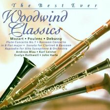 """The Best Ever Woodwind Classics """"Various"""" NEW & SEALED CD 1st Class Post From UK"""