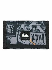 Quiksilver Mens Boys Cartera. everydaily Gris Triple Nota Monedero Tarjeta Cartera W20 23
