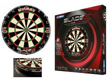 WINMAU Professional Level Blade 5  Dart Board Dual Core  New Generation  2018