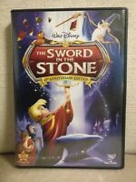 The Sword in the Stone (DVD, 2008, 45th Anniversary Edition) Authentic Disney
