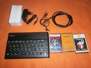Ordenador Sinclair ZX Spectrum 48K - TIMEX - Completo con juegos