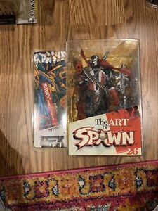 McFarlane Art of Spawn Series 26 Issue 7 Cover Art Version Figure New NIB