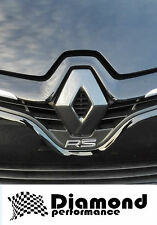 Renault Clio 4 2013-2016  CARBON FIBRE EFFECT FRONT BADGE EMBLEM COVER,*OFFER*