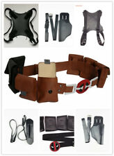 Deadpool leather belt straps Leg band holster props cosplay Accessories