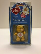 Birthday Bear, Care Bears Vintage Poseable Figure, Mint In Box By Kenner