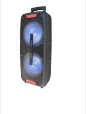 Top Tech Audio Fully Amplified Portable 2500 Watts Peak Power 2X8� Speaker