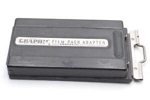 EXC++ GRAFLEX GRAPHIC FILM PACK ADAPTER 2.25 x 3.25 MODEL 2, NICE!, w/DS