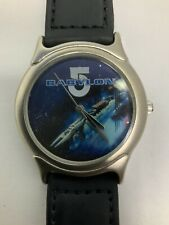 Babylon 5 Analogue Watch 1997 in Collectible Metal Tin