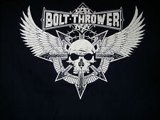 BOLT THROWER - Wings Shirt L Obituary Benediction Unleashed