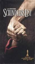 NEW and SEALED Schindler's List ~ VHS 2-Tape Box Set Stephen Spielberg