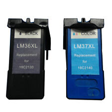 Reman ink Cartridge for Lexmark 36XL(Black)/37XL(Color) use in Lexmark X5650