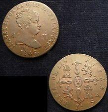 *GUTSE*553-ISABEL II, 8 MARAVEDIS 1846, JUBIA, EBC-
