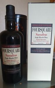 Foursquare Sassafras Single Blended Rum 14 Jahre - 61% - 70cl Velier