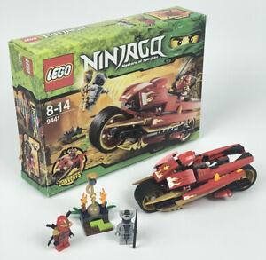 Lego Ninjago Kai's Blade Cycle - 9441 (100% Complete With Box)