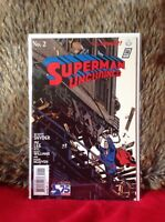 SUPERMAN UNCHAINED # 2 VARIANT EDITION 1 in 100 DC  COMICS