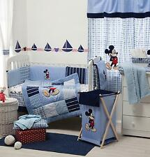 4 PIECE DISNEY MICKEY MOUSE BABY CRIB BEDDING COT SET RRP $250.00