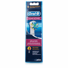 Oral B Floss Action Electric Toothbrush Heads (2pk) FREE Regi Post + Bonuses