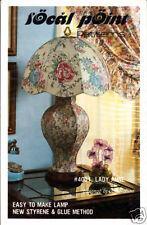 Craft Books: #1085 Lady Anne Fabric Lamp Shade Sewing Pattern Instructions