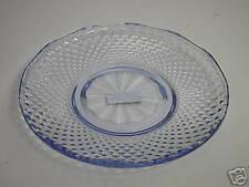 "Ikea Italy Salad Plate Diamond Pattern Light Blue 8"" D"