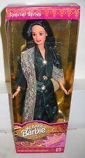 #5863 NRFB Mattel Malayasian Kebaya Barbie in Green Foreign Issue